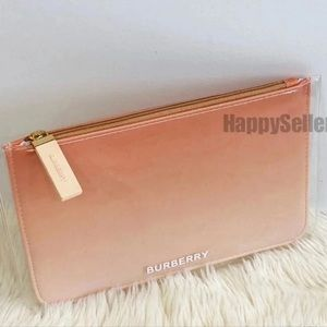 Burberry Pouch Makeup Organizer Cosmetic Bag Case